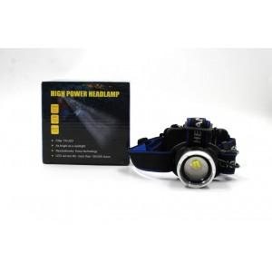 Налобный фонарь BL T24 - P50 2*18650 battey