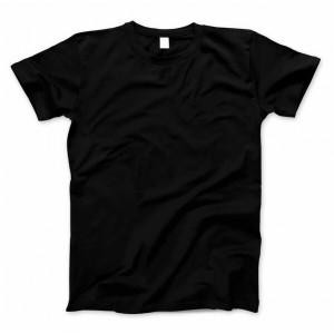 Футболка Basiс Black (хлопок, по размерам уточняйте наличие)