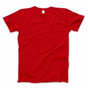 Футболка Basiс Bright red (хлопок, по размерам уточняйте наличие)