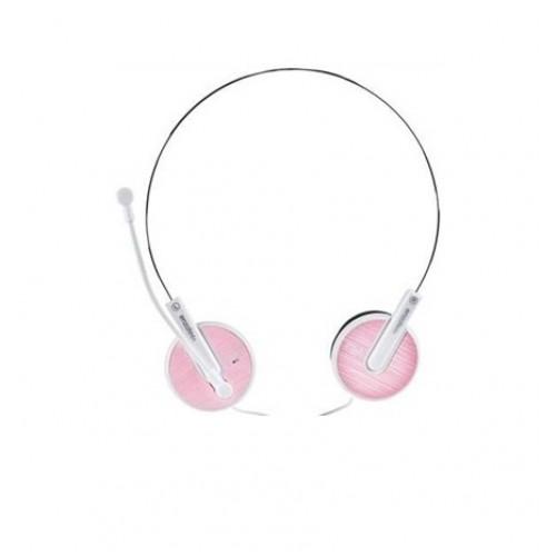 Гарнитура Enzatec HS-101 Pink