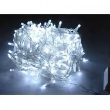 Гирлянда светодиодная 100 LED белая прозрачный провод