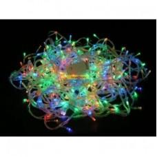 Гирлянда светодиодная 200 Led RGB прозрачный провод