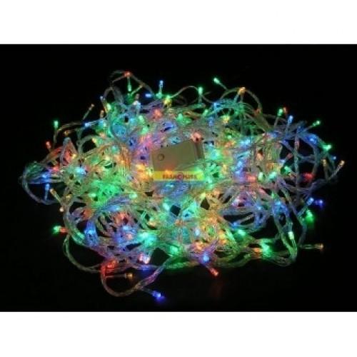 Гирлянда светодиодная 500 Led RGB прозрачный провод