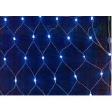 Гирлянда светодиодная 120 Сетка LED синий