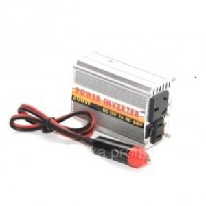 Преобразователь напряжения ( Инвертор) 12V-220 Вольт 200 Вт