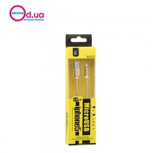 Кабель Micro USB/LightNinG 1m MTK 8050 2A