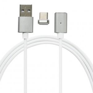 Кабель магнит Type-C USB METAL MAGNETIC