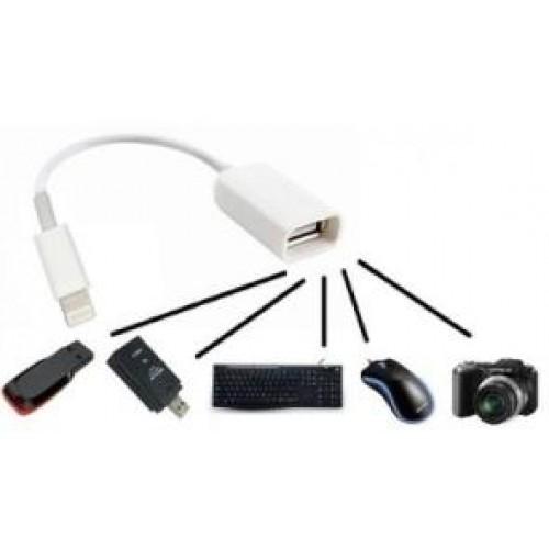 Кабель Apple  iPhone & Mini Ipad OTG