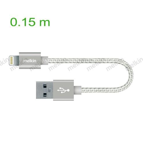 Кабель Apple usb Lighting Melkin M8J144B 0,15 м Серебристый
