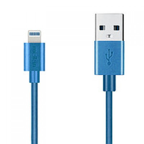 Кабель Apple usb Lightning Melkin M8J023 1,2 м Синий