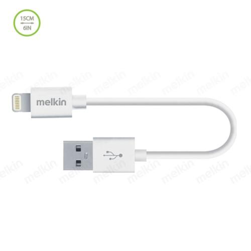 Кабель Apple usb Lightning Melkin M8J023B 0,15 м Белый
