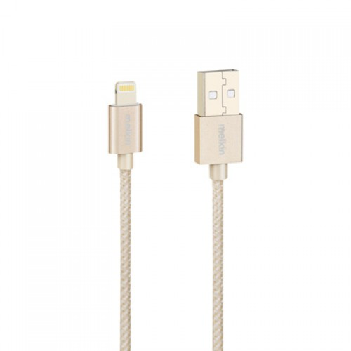 Кабель Apple usb Lightning Melkin M8J144 1,2 м Золотой