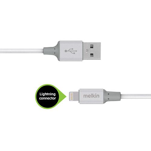 Кабель Apple usb Lightning Melkin M8J146 1,2 м Белый