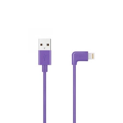 Кабель Apple usb Lightning Melkin M8J147 1,2 м Фиолетовый