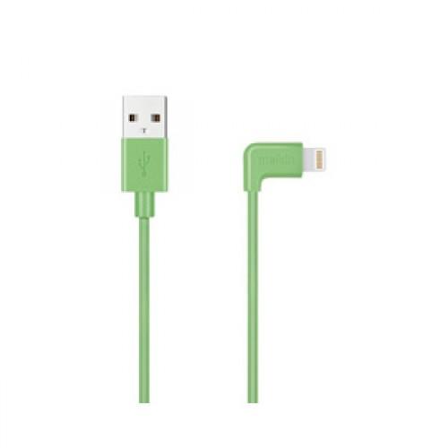 Кабель Apple usb Lightning Melkin M8J147 1,2 м Зеленый