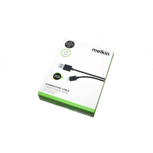 Кабель Apple usb Lightning Melkin M8J023 3M 3 м Черный