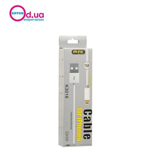 Кабель USB LightNinG 1m MTK K3018 2A