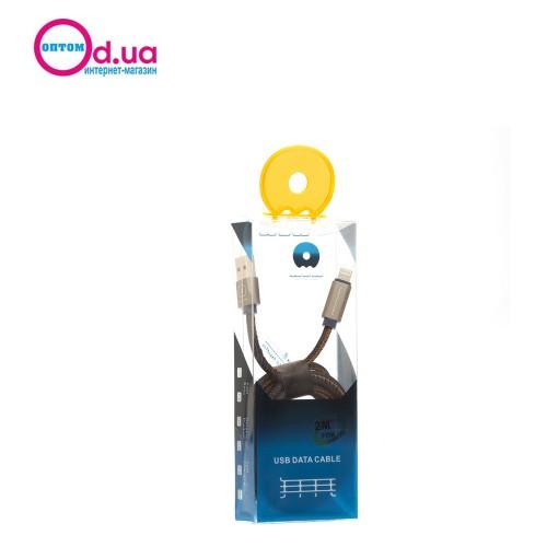 Кабель USB LightNinG 2m WuW X-01