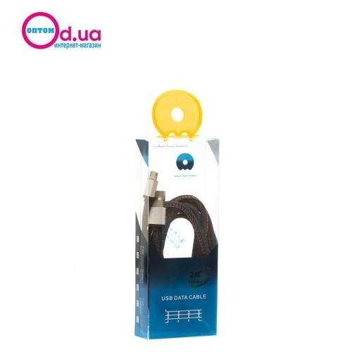 Кабель Micro USB 2m WuW X-01