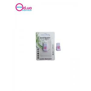 Картридер T-Flash/Micro SD Micro Card Reader/Writer 10070