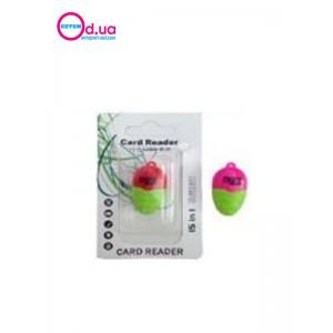 Картридер T-Flash/Micro SD Micro Card Reader/Writer 10083
