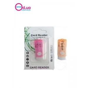 Картридер T-Flash/Micro SD Micro Card Reader/Writer 10084