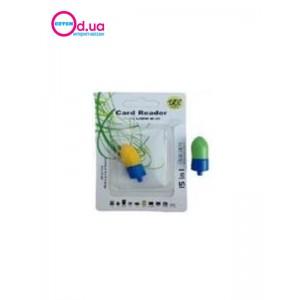 Картридер T-Flash/Micro SD Micro Card Reader/Writer 10088