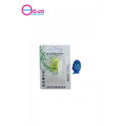 Картридер T-Flash/Micro SD Micro Card Reader/Writer 10091