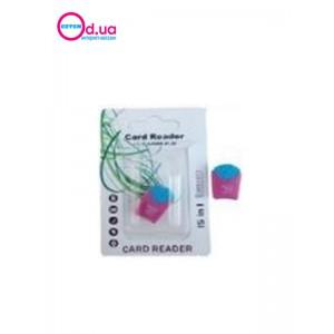 Картридер T-Flash/Micro SD Micro Card Reader/Writer 10096