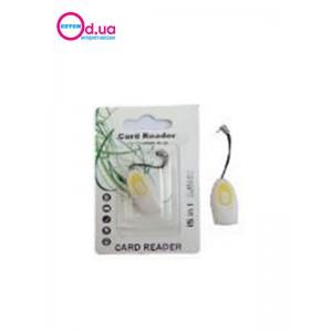 Картридер T-Flash/Micro SD Micro Card Reader/Writer 10104