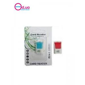 Картридер T-Flash/Micro SD Micro Card Reader/Writer 10106