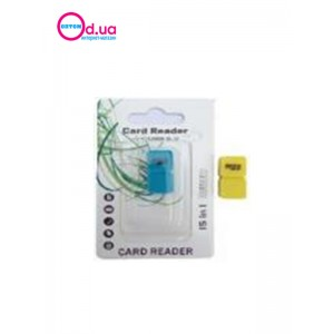 Картридер T-Flash/Micro SD Micro Card Reader/Writer 10107
