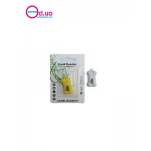 Картридер T-Flash/Micro SD Micro Card Reader/Writer 10108