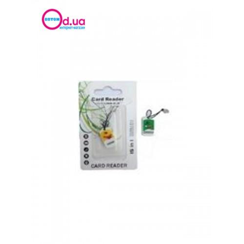 Картридер T-Flash/Micro SD Micro Card Reader/Writer 10109