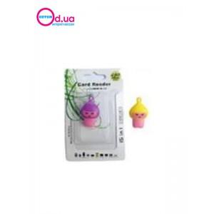 Картридер T-Flash/Micro SD Micro Card Reader/Writer 10113