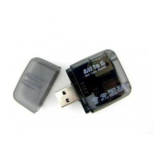 Универсальный картридер XD7 (SDXC, SDHC, SD, Micro SD, M5 Duo, M2)