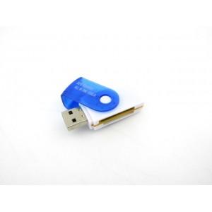 Универсальный картридер XD8 (SDXC, SDHC, SD, Micro SD, M5 Duo, M2)