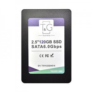 "SSD T&G 2,5"" 120GB SATA 6.0Gbps R/W: 500 MB/s / 400 MB/s, 3D TLC"