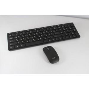 Комплект беспроводной клавиатура+мышь К06