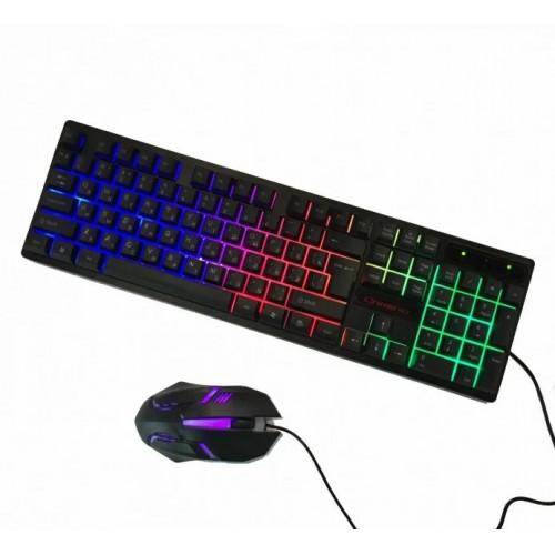 Комплект Клавіатура з комп'ютерною мишею HK-6300TZ