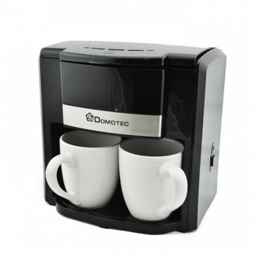 Кавоварка MS 0708 + 2 чашки Black