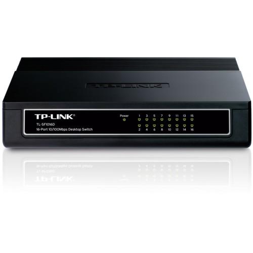 Коммутатор TP-LINK 16xRJ-45 10/100Mbps TL-SF1016D