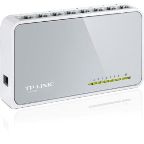 Коммутатор TP-LINK 8xRJ-45 10/100Mbps TL-SF1008D