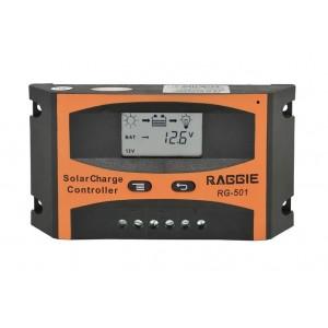 Контроллер для солнечной батареи Solar controler RG-501 20A