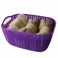 Корзинка для полотенец плетение 2 л (BH70275)