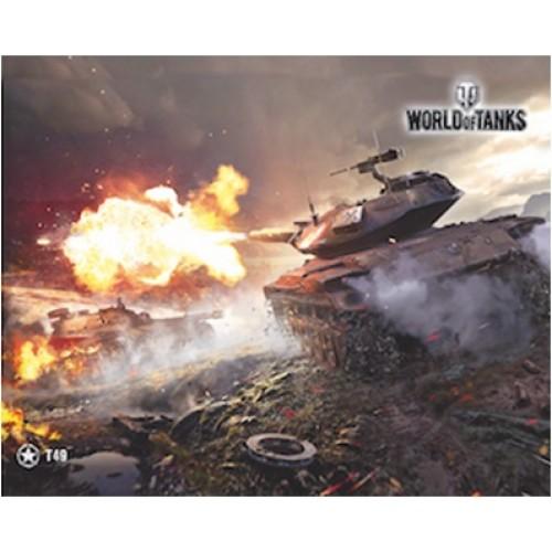 Коврик для мыши - PAD108 / World of Tanks T49 ( 250 Х 200 )
