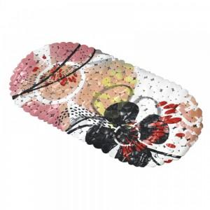Банный коврик антискользящий резиновый Flowers (BH40283)