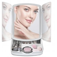 Дзеркало-органайзер для макіяжа My Foldaway Lighted Makeup Mirror