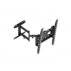 Настенный поворотно-наклонный кронштейн для ТВ с диагональю 32–65″ KSL WMO-6245T