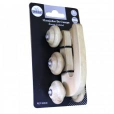 Массажные ролики банные с ручкой (BH90538)
